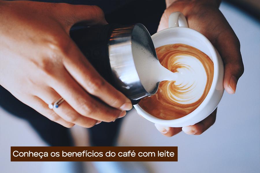 Conheça os benefícios do café com leite